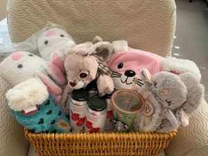 Fuzzy Holiday Basket Raffle!